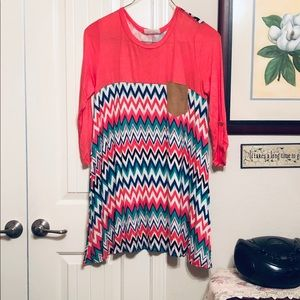 1x Janette Plus Soft and stretchy top